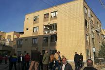 نشت گاز در مجتمع الغدیر سمنان به 30 واحد مسکونی خسارت زد