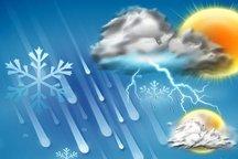 بارش پراکنده باران و وزش باد شدید در پیش است