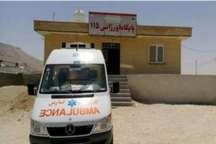 پایگاه اورژانس 115 دارالمیزان در شهرستان مُهر به بهره برداری رسید