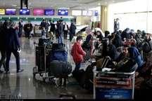 توقف پروازهای مشهد به تهران در فاصله ساعات 17 تا 19