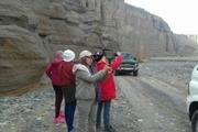 800 گردشگر خارجی از دره راگه رفسنجان بازدید کردند