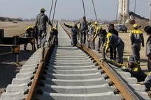 148 کیلومتر از مسیر راه آهن رشت - قزوین ریل گذاری شده است