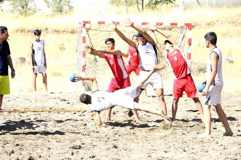 شکست تیم ملی هندبال ساحلی مقابل ویتنام در رقابتهای قهرمانی آسیا