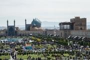 اقامت گردشگران نوروزی در اصفهان 48 درصد افزایش یافت