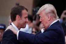 ترامپ رئیس جمهور فرانسه را احمق خواند!