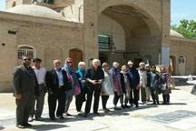 گردشگران آمریکایی از آثار تاریخی ورامین دیدن کردند