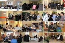 ارائه خدمات بهداشتی درمانی در منطقه محروم وزیر آباد  شیراز