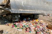 5038کیلوگرم مواد غذایی فاسد در استان بوشهر معدوم شد
