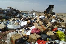 هفت تن کالای قاچاق در قزوین امحا شد