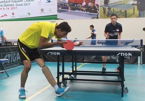 ترکیب تیم ملی تنیس روی میز جانبازان و معلولین در بازیهای پاراآسیایی ۲۰۱۸