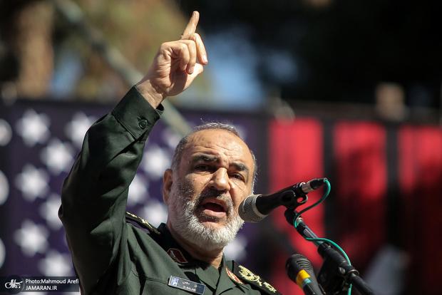 پیام فرمانده کل سپاه به دشمنان ایران