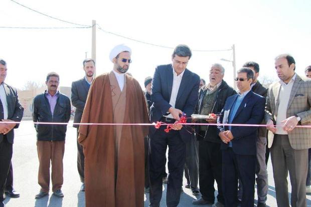 پنج طرح فرهنگی در مهریز افتتاح شد