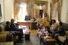 دیدار رئیس شورایشهر با اعضای تعاونی مصرف کارکنان شهرداری رشت