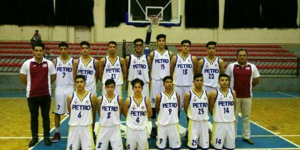 کسب مقام سوم پتروشیمی بندر امام در لیگ نوجوانان بسکتبال کشور