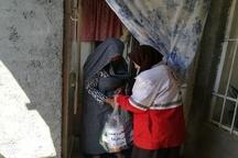 توزیع 80 بسته غذایی بین نیازمندان قوچان