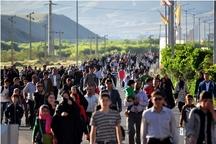 همایش پیاده روی خانوادگی در قزوین برگزار شد