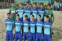 تیم فوتبال ساحلی گلساپوش یزد برسام اردکان را شکست داد
