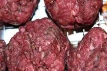 مکان عرضه گوشت و مواد غذایی فاسد در کرج تعطیل شد