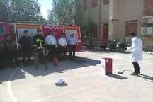 جوان دشتستانی آتش نشان خودکار ساخت