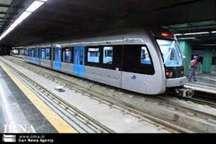 قطار شهری تهران - کرج فردا جمعه جابجایی مسافر ندارد