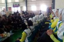 استاندار قزوین از محل تمرین تیم ملی کبدی بانوان بازدید کرد