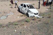 واژگونی 2 خودرو در سبزوار هفت مصدوم داشت