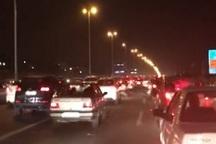ترافیک در جاده های البرز نیمه سنگین است