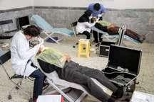 گروه جهادی 40 دندانپزشک در طبس مشغول خدمت رسانی در مناطق محروم هستند