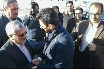 وزیر ارتباطات وارد فیروزکوه شد