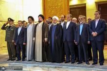مراسم تجدید میثاق رییس جمهور و اعضای هیات دولت با آرمان های امام خمینی(س)