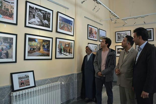 نمایشگاه آثار برگزیده عکس آیات در شهربابک گشایش یافت