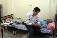 156 مددجوی قزوین خدمات مراقبتی در منزل دریافت می کنند