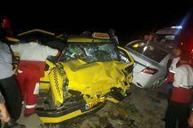 حادثه رانندگی در جاده قدیم ساوه به همدان ۲ کشته و پنج مصدوم داشت