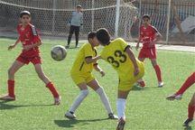 هفته نهم لیگ برتر فوتبال نونهالان در رامشیر برگزار شد