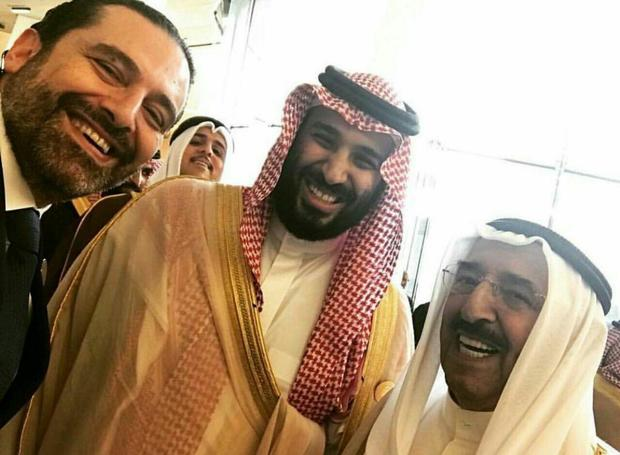 سلفی سعد حریری و ولیعهد سعودی ! + عکس