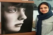 برگزاری نمایشگاه سیاه قلم تکنیک هایپررئال در نگارخانه تالار شهید آوینی خرم آباد