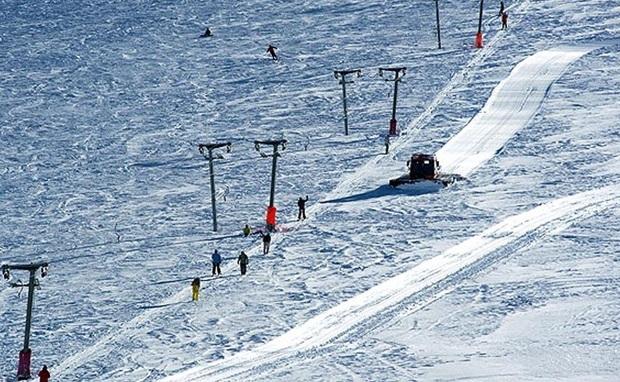 پیست اسکی سهند 2 روز در هفته فعال است