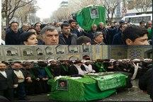 تشییع و تدفین پیکر امام جمعه طبس در مشهد