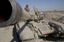 انهدام اهداف زرهی با تک هوایی دشمن فرضی در رزمایش بیت القدس 29