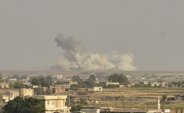 کُردهای سوریه حمله زمینی ترکیه را دفع کردند/ زندان اسرای داعش هدف حملات ترکیه