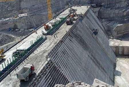 شمارش معکوس برای ابگیری سد گلورد نکا در مازندران
