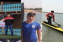 3 قایقران بوشهری به اردوی تیم ملی آبهای آرام دعوت شدند