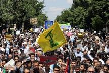 حضور در راهپیمایی کمترین وظیفه مسلمانان در حمایت از قدس است