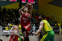 پیروزی تبریزیها مقابل مهرام در اولین فینال لیگ بسکتبال