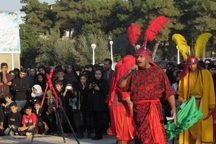 اجرای 12 گروه تعزیه خوان اربعین حسینی در گلستان
