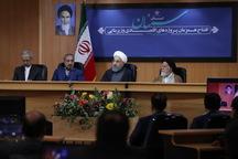 روحانی در سمنان: کاهش سهم درآمدهای نفتی در بودجه، از پایه های تحقق اقتصاد مقاومتی است