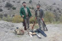 دستگیری 9 شکارچی پرندگان کمیاب در آمل