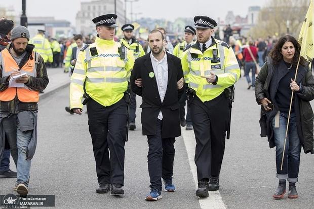 تظاهرات محیط زیست لندن