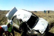 سانحه رانندگی در زنجان یک کشته و چهار مصدوم برجا گذاشت