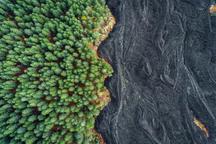 عکس روز نشنال جئوگرافیک؛ گدازههای کوه اتنا - سیسیل، ایتالیا
